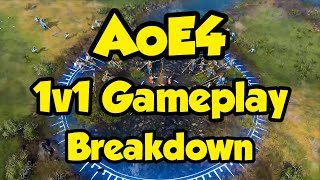 Age of Empires 4 - Breakdown of the 1v1 Gameplay Reveal