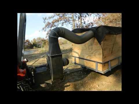 Homemade Leaf Vacuum Large Capacity Heavy Duty