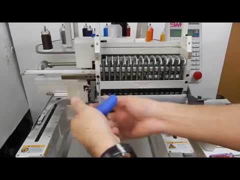 SWF Embroidery Machine Do It Yourself Videos - How to Take Off and Install Your SWF Head