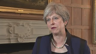 Theresa May offers condolences after Barcelona terror attack