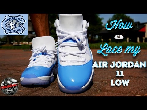 How I Lace My Air Jordan 11 Low & On Feet