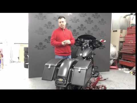 Harley Davidson slim bagger mp4 5