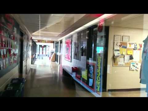 South African in Canada - an elementary school