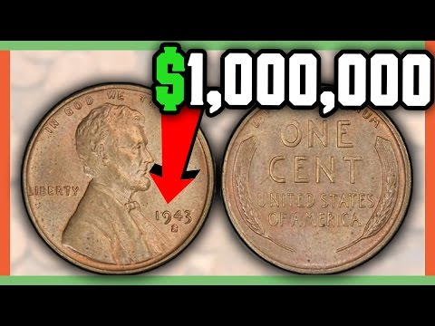 RARE 1943 COPPER PENNY WORTH A MILLION DOLLARS - CHECK YOUR POCKET CHANGE FOR VALUABLE COINS!!