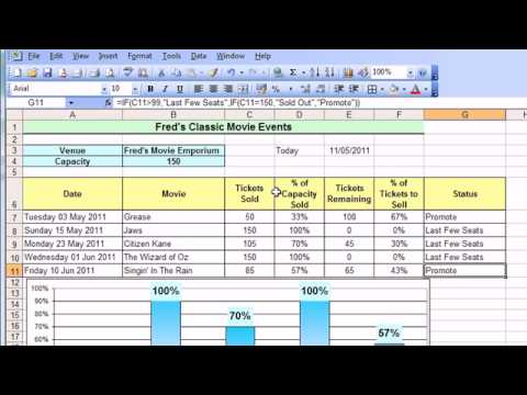 Microsoft Excel Tutorial for Beginners #21 - Date & Time Pt.2 - Date Calculations