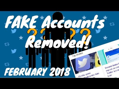 Twitter Removed ALL FAKE ACCOUNTS! Celebs DELETE Twitter Accounts!