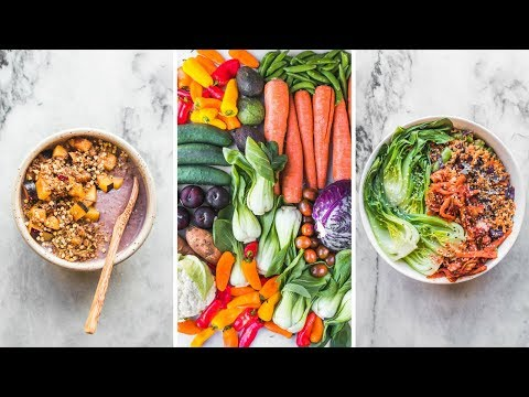 What I Eat In a Day + Produce Haul (Vegan)