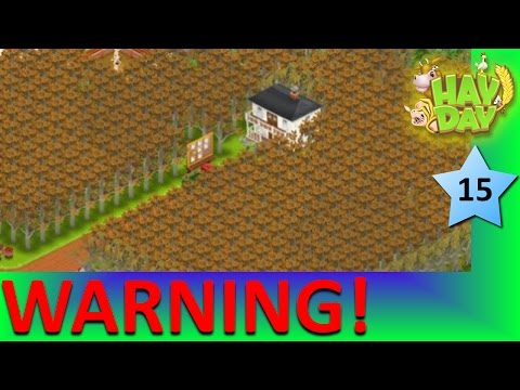 HAY DAY - HAVE YOU BEEN WARNED OF THE WORSE MISTAKE IN HAY DAY?