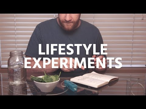How To Do Lifestyle Experiments