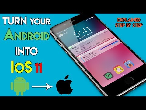How To Install iOS 11 on Android - Make Your Android Phone Look Like iPhone