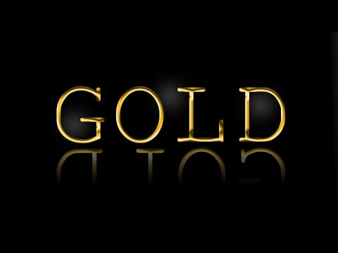 Photoshop: Create Gold Text-Effect [Tutorial HD]