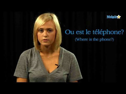 How to Ask For a Phone in French