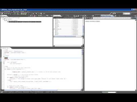 CSIS-3020 Web Programming and Design - Week 10 How to Debug PHP Code in Eclipse
