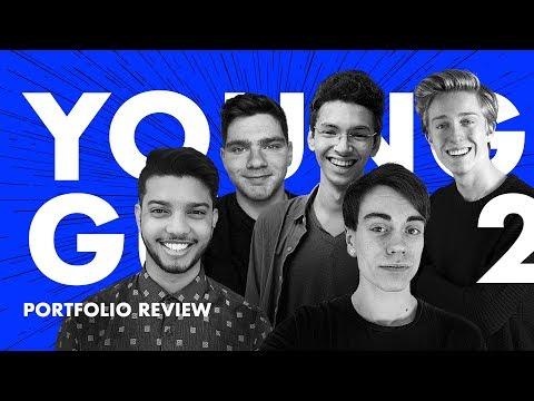 Designer Portfolio Reviews— Young Guns Ep.2