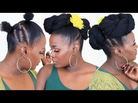 SHORT HAIR TRANSFORMATION UPDO |REQUESTED