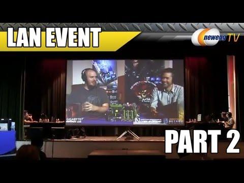 Newegg TV: Gigabyte ESPORTS LAN Event Part II