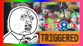 THE CLAW MACHINE AT TOYS R US MADE ME SO MAD! (Gamergreen)