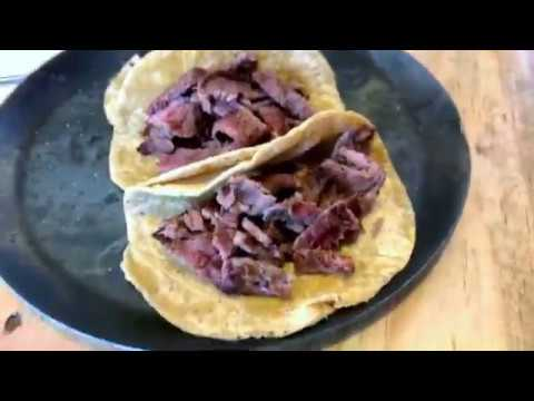 Sirloin Steak Tacos in Real Mexico.