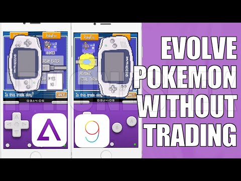 How to Evolve Pokemon Without Trading, Evolve Pokemon Without Having to Trade GBA4IOS 2.1
