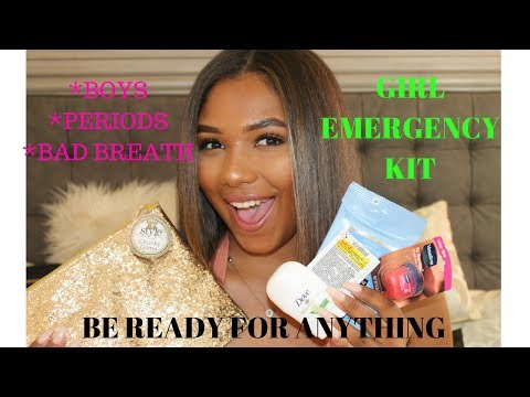 DIY GIRL EMERGENCY KIT FOR BACK TO SCHOOL 2017