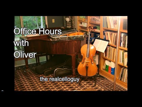 Office Hours - More advice on purchasing a cello
