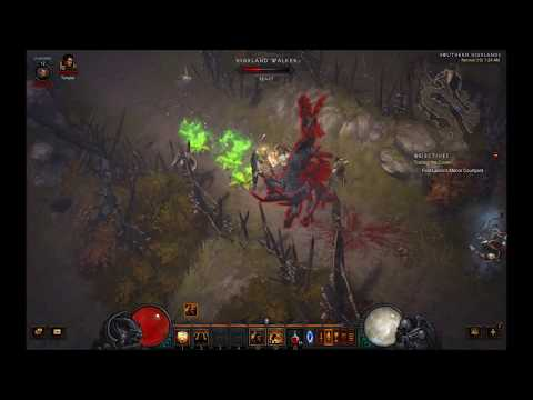 Diablo 3 Reaper Of Souls RPG Crusader Class no commentary full Gameplay/Walkthrough part 1 1080p HD
