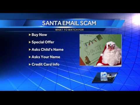 Beware of Santa email scams