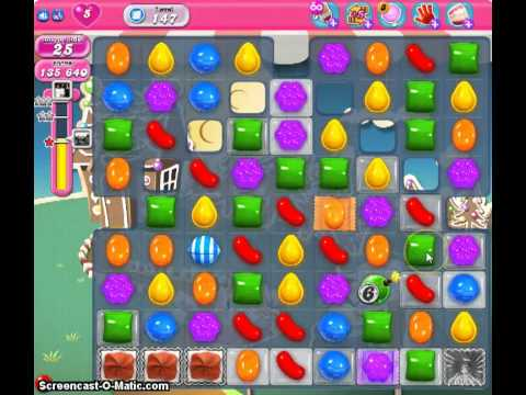 Candy Crush Saga Level 147 3 Star No Boosters