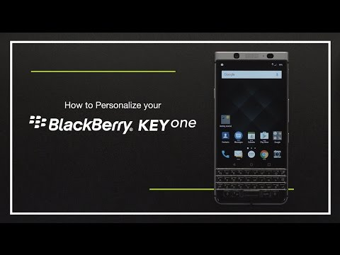 How to personalize your BlackBerry KEYone