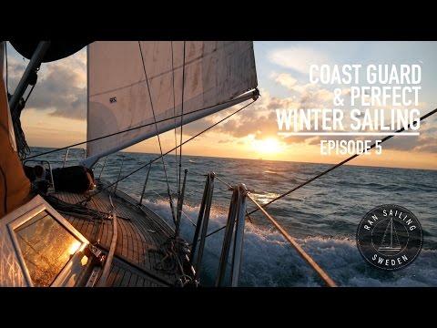 Coast guard & Perfect winter sailing - Ep. 5 RAN Sailing