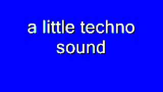 little techno sound