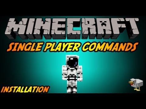 Minecraft 1.7.5-How to install Single Player Commands