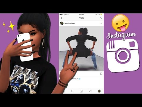 SIMS INSTAGRAM ROLEPLAY ACCOUNT 😛| THE SIMS 4 || HOW TO