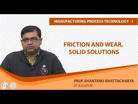 Friction and Wear, Solid solutions
