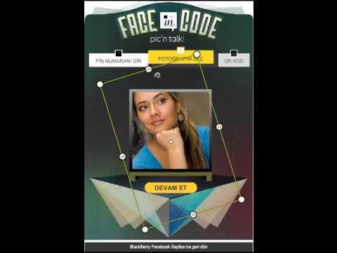 Blackberry DesignYourCode Facebook App