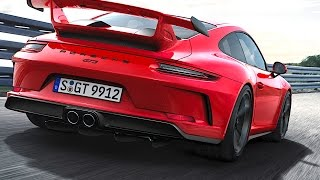 Porsche 911 GT3 World Premiere Porsche 911 GT3 991 II 2018 Commercial 2017 CARJAM TV