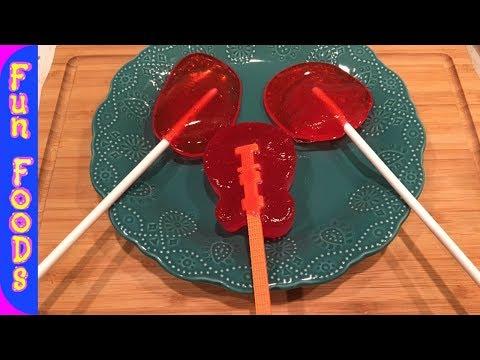 How to Make Homemade Lollipops - FunFoods Live Stream Recipe