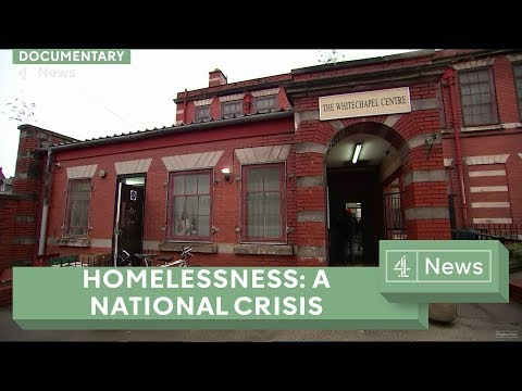 How bad is Britain's homelessness problem?