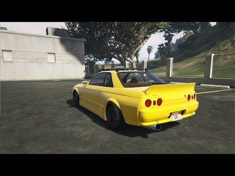 GTA 5 PC | Skyline R32 GT-R Car Mod |