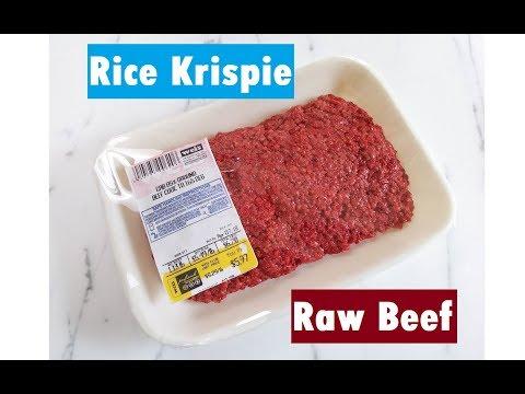 Red Meat Rice Krispie Treats