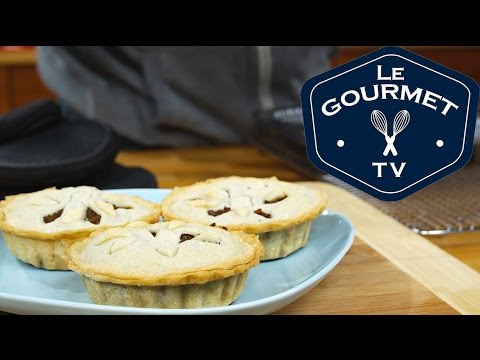 Individual beef and pork meat pie recipe - LeGourmetTV