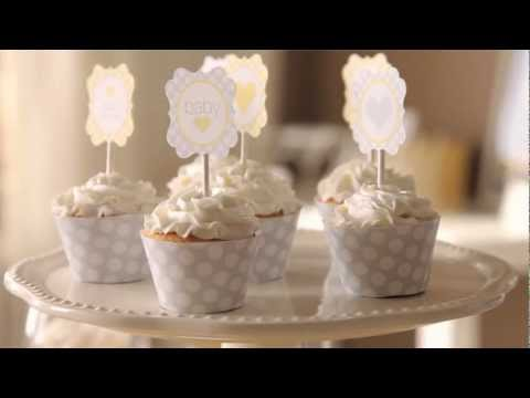 How To: Cute Cupcake Dressings for a Sunshine Baby Shower | Pottery Barn Kids