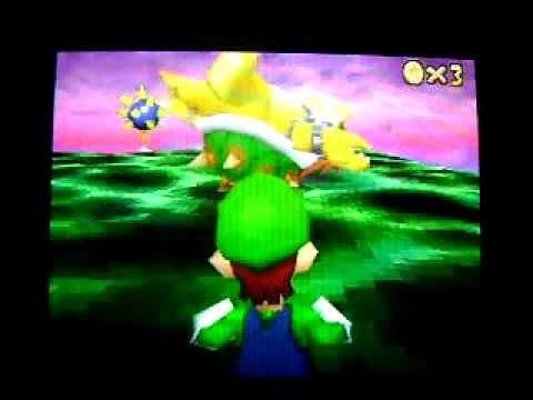 Super Mario 64 DS Bloopers 1: Luigi's Ending