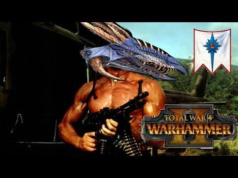 PURPLE (DRAGON) RAIN   High Elves vs Chaos: Total War Warhammer 2