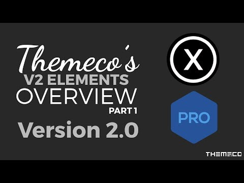 How to use V2 Elements with Themeco: Part 1