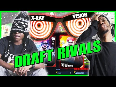 watch HE HAS X-RAY VISION! CRAZY BLINDFOLD DRAFT! - MUT Wars Ep.90 | Madden 17 Ultimate Team