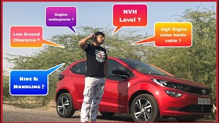 TATA ALTROZ | Drive Review | NVH Level | Cabin Noise | Gear shifting | Ground Clearance | Problems