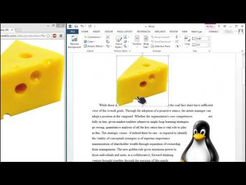 Basic Image Options in Word 2013