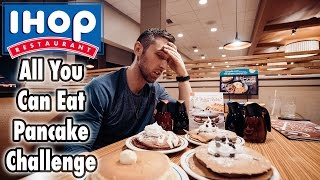 IHOP All You Can Eat Pancake Challenge!