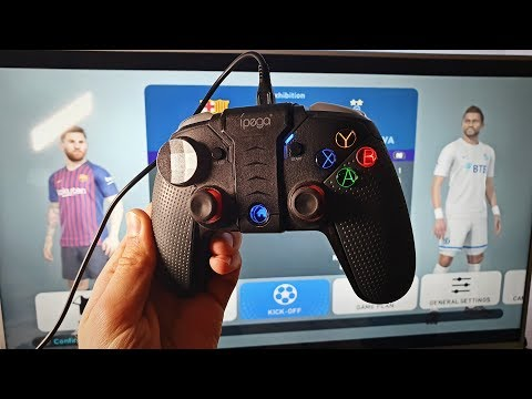 How To Connect Ipega Gamepadcontroller To PCWindows USB Cable Wired Connection